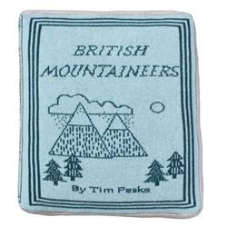 Mountaineers Book Cushion, L42 x H42cm