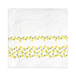 Lemons King size duvet cover, H220 x L230cm, white