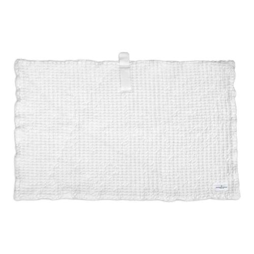 Waffle Bath mat, 80 x 55cm, Natural White