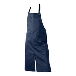 Twill Apron with pocket, 80 x 95cm, dark blue