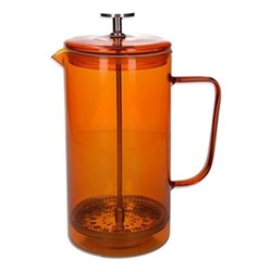 Colour Cafetiere, 3 cup - 350ml, amber