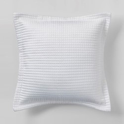 Christobel Cushion, 45 x 45cm, white