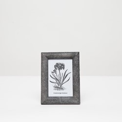 "Oxford Photograph frame, 4 x 6"", cool gray"