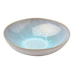 Ibiza Set of 4 pasta plates, 21cm, sea
