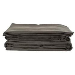 Double flat sheet, 230 x 270cm, olive grey