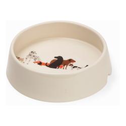 Dog Tales Dog bowl, H9.5cm, multi