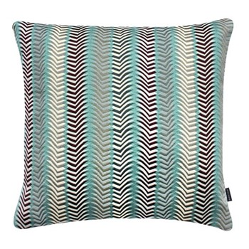Chester Large square cushion, 56 x 56cm, turquoise