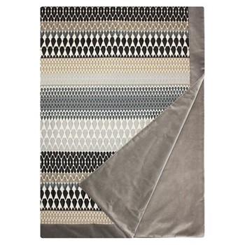 Iceni Silver Velvet Throw, 215 x 115cm, Iceni Silver
