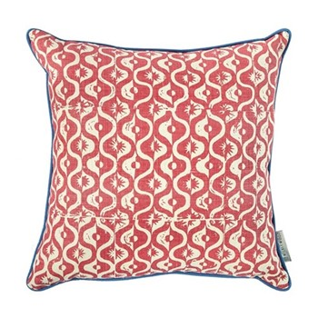 Small Medallion Cushion, 50 x 50cm, berry