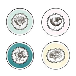 Herbariae Set of 4 coasters