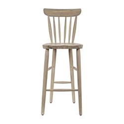 Wardley Bar stool, H102 x W47.8 x D51.5cm, natural oak
