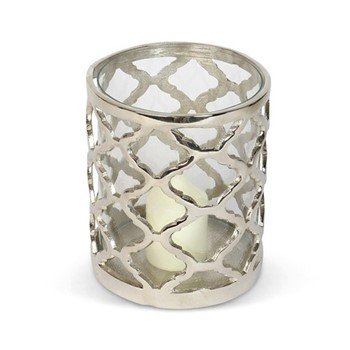 Regency Lattice Medium hurricane lantern