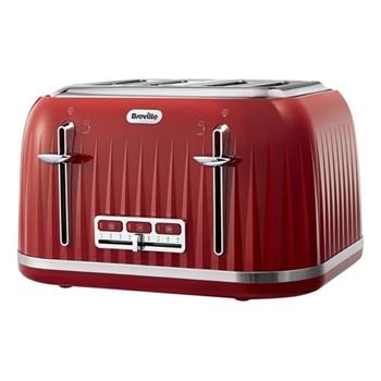 Impressions- VTT783 Toaster, 4 Slice, venetian red