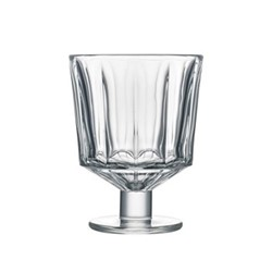 City Set of 6 stemmed glasses, 26cl, clear