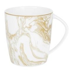 Gunnison Mug, H10 x W9 x L9cm, gold