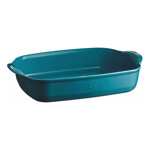 Calanque Pair of large oven dishes, L43.5 x W31.5cm - 400cl, Blue