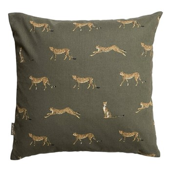 ZSL Cheetah Cushion, L45 x 45cm, multi