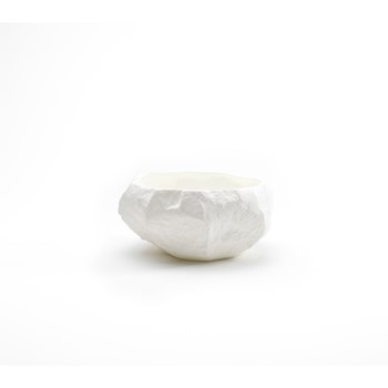 Crockery White Bowl, D14 x H5.5cm, white