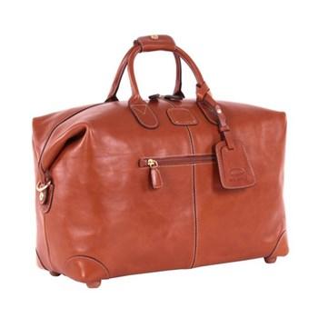 Life Pelle Holdall bag, W43 x H28 x D19cm, tan