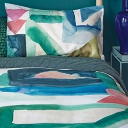 St Ives King size duvet cover set, 230 x 220cm
