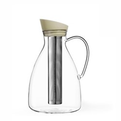 Infusion Iced tea carafe, 2.4 litre, buttermilk