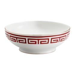 Labirinto Salad bowl, 26.5cm, Scarlatto