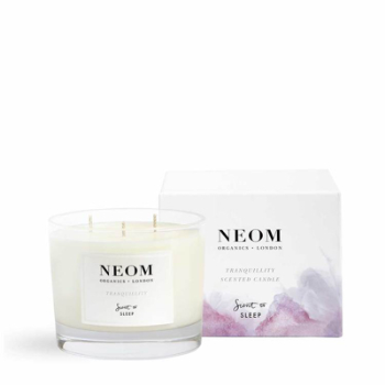 Candle, Tranquility Fragrance, Scent to Sleep, 3 Wick