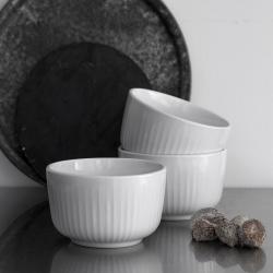 Hammershoi Bowl, H7 x W13cm, White