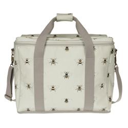 Bees Picnic bag, 39 x 33 x 19cm, Oilcloth