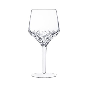 Folia Water glass no 2, H18.5 x D8.7cm, clear crystal