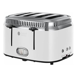 Retro - 21694 Toaster, 4 slice, white