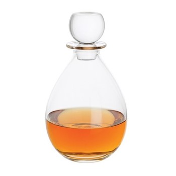 Whisky Low decanter, H21cm - 75cl, clear
