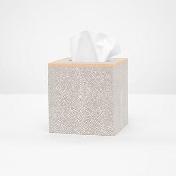 Manchester Tissue box, H14cm, sand