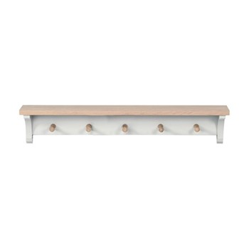 Suffolk Coat rack, W83 x D16 x H15cm, silver birch