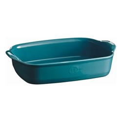 Calanque Set of 3 small oven dishes, L29 x W19cm - 155cl, blue