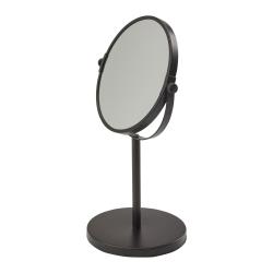 Beau Mirror, 19.5 x 33cm, Black
