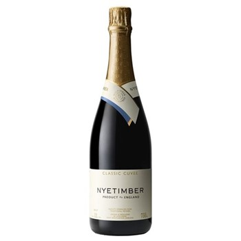 Case of Nyetimber classic cuvee English sparkling wine 6 bottles