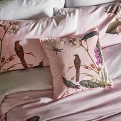 Pistachio Pair of standard pillowcases, 48 x 74cm, pink
