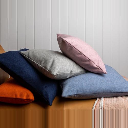 Islington Cushion, 45 x 45cm, Grey