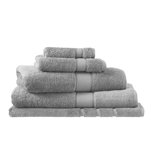 Egyptian Cotton Luxury Bath mat, 60 x 90cm, Cloud Grey