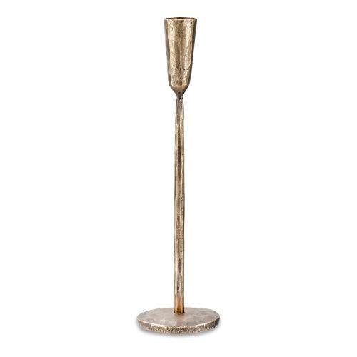 Mbata Medium candestick, D30 x 8cm, Antique Brass