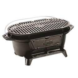 Lodge Sportsman's grill, 51 x 26.4 x 20.7cm, black