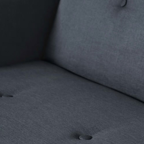 Chou Sofa bed, H82 x W210 x D88cm, Quartz Blue