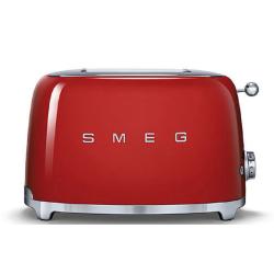 50's Retro 2 slice toaster, Red