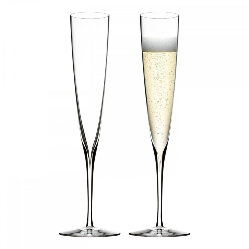 Elegance Collection Pair of champagne flutes