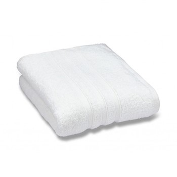 Zero Twist Pair of face cloths, 30 x 30cm, white