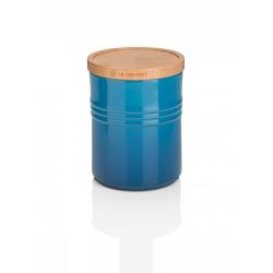 Stoneware Medium storage jar, 10 x 12cm - 540ml, Marseille