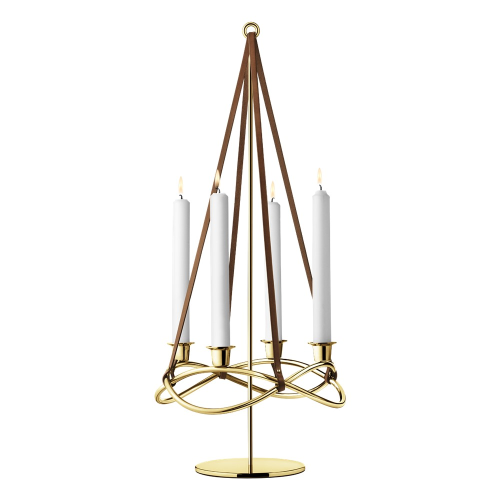 Season Candleholder extension, 60.8cm, Gold