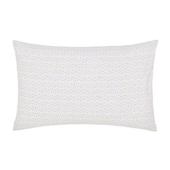 Fleuri Pair of pillowcases, L48 x W74cm, grey