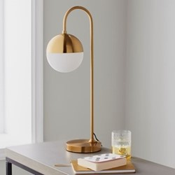 Mayfair Table lamp, L21 x W18 x D59cm, gold